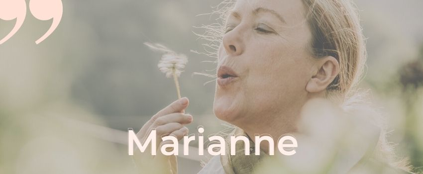 témoignage endométriose Marianne